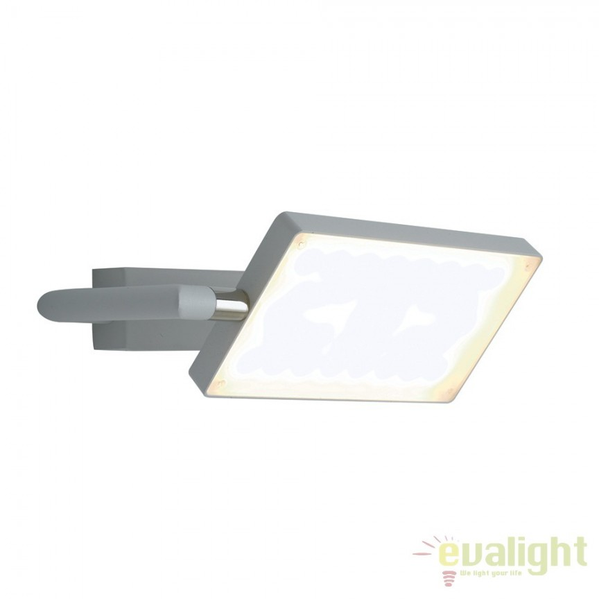 Aplica LED directionabila, design modern Led book, alb LED-BOOK-AP-BCO FE, Aplice de perete simple, Corpuri de iluminat, lustre, aplice, veioze, lampadare, plafoniere. Mobilier si decoratiuni, oglinzi, scaune, fotolii. Oferte speciale iluminat interior si exterior. Livram in toata tara.  a