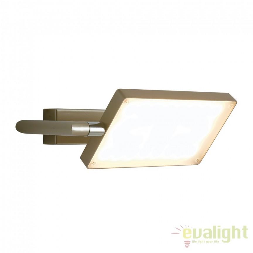 Aplica LED directionabila, design modern Led book, auriu LED-BOOK-AP-ORO FE, Aplice de perete simple, Corpuri de iluminat, lustre, aplice, veioze, lampadare, plafoniere. Mobilier si decoratiuni, oglinzi, scaune, fotolii. Oferte speciale iluminat interior si exterior. Livram in toata tara.  a