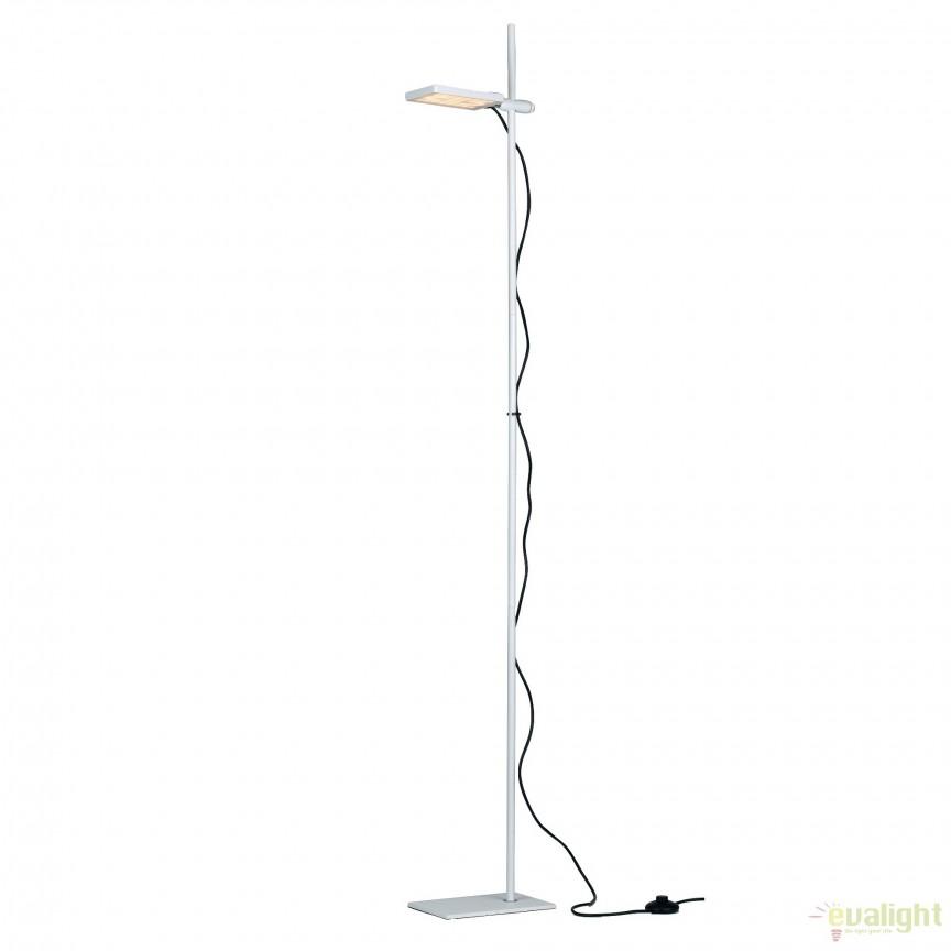 Lampadar LED directionabil, design modern Led book, alb LED-BOOK-PT-BCO FE, Lustre LED, Pendule LED, Corpuri de iluminat, lustre, aplice, veioze, lampadare, plafoniere. Mobilier si decoratiuni, oglinzi, scaune, fotolii. Oferte speciale iluminat interior si exterior. Livram in toata tara.  a