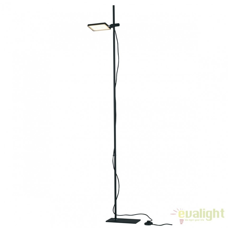 Lampadar LED directionabil, design modern Led book, negru LED-BOOK-PT-NERO FE, Lustre LED, Pendule LED, Corpuri de iluminat, lustre, aplice, veioze, lampadare, plafoniere. Mobilier si decoratiuni, oglinzi, scaune, fotolii. Oferte speciale iluminat interior si exterior. Livram in toata tara.  a