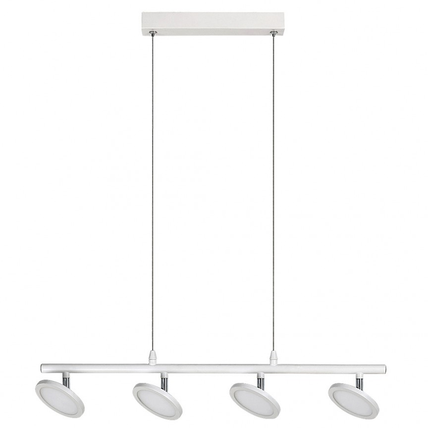 Lustra suspendata design minimalist cu 4 spoturi LED Elsa 2716 RX, Lustre LED, Pendule LED, Corpuri de iluminat, lustre, aplice, veioze, lampadare, plafoniere. Mobilier si decoratiuni, oglinzi, scaune, fotolii. Oferte speciale iluminat interior si exterior. Livram in toata tara.  a