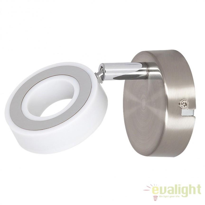 Aplica Led design minimalist Zora 5939 RX, Spoturi - iluminat - cu 1 spot, Corpuri de iluminat, lustre, aplice, veioze, lampadare, plafoniere. Mobilier si decoratiuni, oglinzi, scaune, fotolii. Oferte speciale iluminat interior si exterior. Livram in toata tara.  a