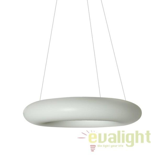 Lustra LED moderna Ø60cm NAPOLI, Lustre LED, Pendule LED, Corpuri de iluminat, lustre, aplice, veioze, lampadare, plafoniere. Mobilier si decoratiuni, oglinzi, scaune, fotolii. Oferte speciale iluminat interior si exterior. Livram in toata tara.  a