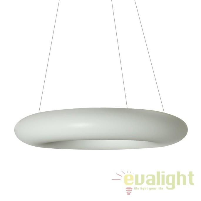 Lustra LED moderna Ø90cm NAPOLI, Lustre LED, Pendule LED, Corpuri de iluminat, lustre, aplice, veioze, lampadare, plafoniere. Mobilier si decoratiuni, oglinzi, scaune, fotolii. Oferte speciale iluminat interior si exterior. Livram in toata tara.  a