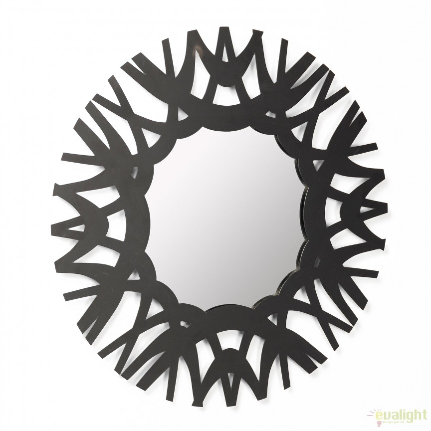 Oglinda decorativa MITCHELL, 60cm AA2558R01 JG, Oglinzi decorative, Corpuri de iluminat, lustre, aplice, veioze, lampadare, plafoniere. Mobilier si decoratiuni, oglinzi, scaune, fotolii. Oferte speciale iluminat interior si exterior. Livram in toata tara.  a