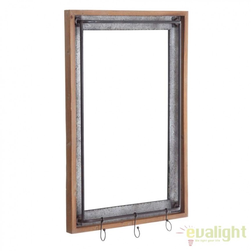 Oglinda decorativa design industrial vintage 54x85,5cm SX-106104, PROMOTII, Corpuri de iluminat, lustre, aplice, veioze, lampadare, plafoniere. Mobilier si decoratiuni, oglinzi, scaune, fotolii. Oferte speciale iluminat interior si exterior. Livram in toata tara.  a