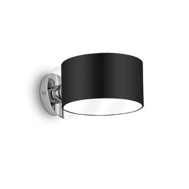 Aplica de perete moderna Anello AP1 Nero 039916, Lichidari de stoc - Oferte si Reduceri Outlet⭐ Corpuri de iluminat ✅Lustre ✅Mobila ✅Decoratiuni interiorare pentru casa.⭕Pret Redus online❗ Magazin ➽ www.evalight.ro. a