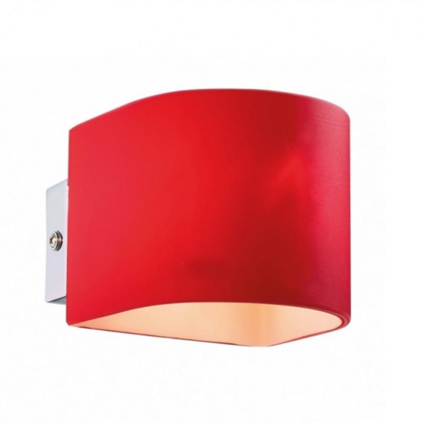 Aplica de perete PUZZLE AP1 rosso 35208, Lichidari de stoc - Oferte si Reduceri Outlet⭐ Corpuri de iluminat ✅Lustre ✅Mobila ✅Decoratiuni interiorare pentru casa.⭕Pret Redus online❗ Magazin ➽ www.evalight.ro. a