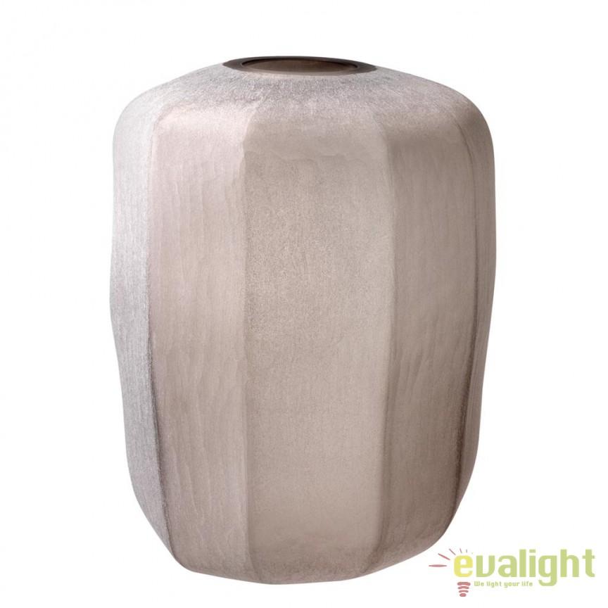 Vaza design elegant Avance L diam.33cm 112574 HZ, Vaze, Ghivece decorative, Corpuri de iluminat, lustre, aplice, veioze, lampadare, plafoniere. Mobilier si decoratiuni, oglinzi, scaune, fotolii. Oferte speciale iluminat interior si exterior. Livram in toata tara.  a