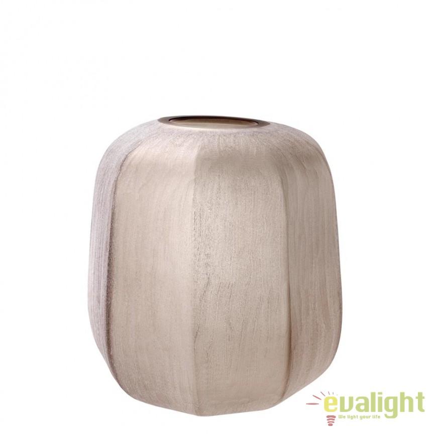 Vaza design elegant Avance S diam.33cm 112575 HZ, Vaze, Ghivece decorative, Corpuri de iluminat, lustre, aplice, veioze, lampadare, plafoniere. Mobilier si decoratiuni, oglinzi, scaune, fotolii. Oferte speciale iluminat interior si exterior. Livram in toata tara.  a