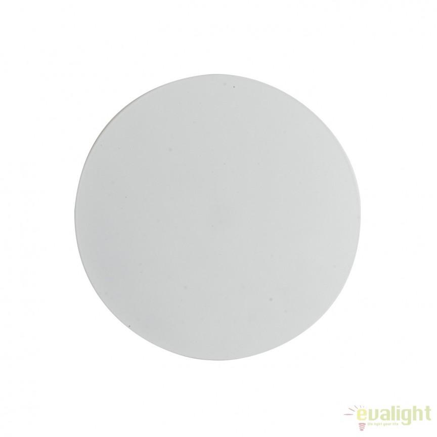 Aplica LED lumina ambientala Eclisse 20cm, alb LED-ECLISSE/AP20 BCO FE, Aplice de perete LED, Corpuri de iluminat, lustre, aplice, veioze, lampadare, plafoniere. Mobilier si decoratiuni, oglinzi, scaune, fotolii. Oferte speciale iluminat interior si exterior. Livram in toata tara.  a