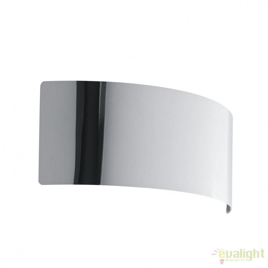 Aplica LED lumina ambientala Dynamic 32cm, crom LED-DYNAMIC-AP32 CR FE, Aplice de perete LED, Corpuri de iluminat, lustre, aplice, veioze, lampadare, plafoniere. Mobilier si decoratiuni, oglinzi, scaune, fotolii. Oferte speciale iluminat interior si exterior. Livram in toata tara.  a