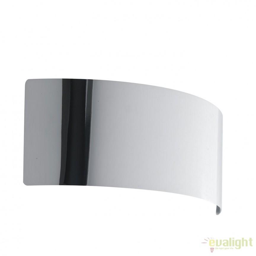 Aplica LED lumina ambientala Dynamic 23cm, crom LED-DYNAMIC-AP23 CR FE, Aplice de perete LED, Corpuri de iluminat, lustre, aplice, veioze, lampadare, plafoniere. Mobilier si decoratiuni, oglinzi, scaune, fotolii. Oferte speciale iluminat interior si exterior. Livram in toata tara.  a