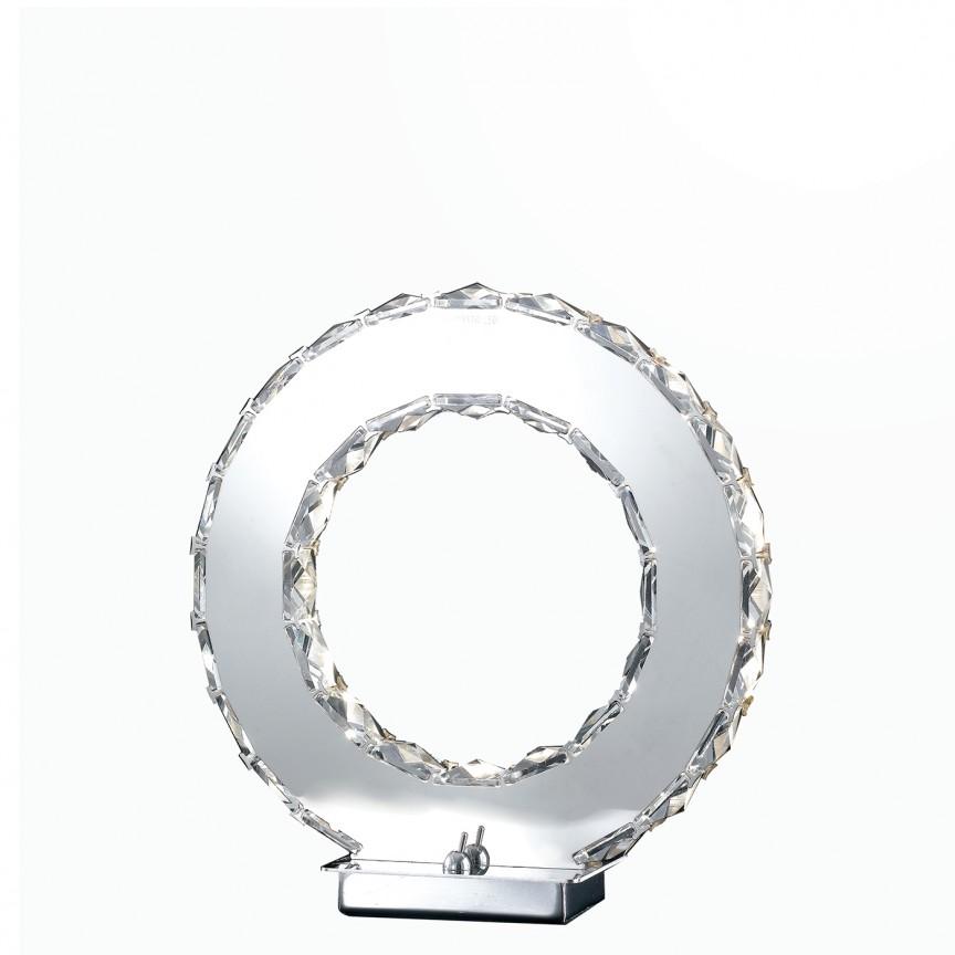 Veioza LED eleganta cu cristale K9 Melody LED-MELODY/L FE, ILUMINAT INTERIOR LED , Corpuri de iluminat, lustre, aplice, veioze, lampadare, plafoniere. Mobilier si decoratiuni, oglinzi, scaune, fotolii. Oferte speciale iluminat interior si exterior. Livram in toata tara.  a
