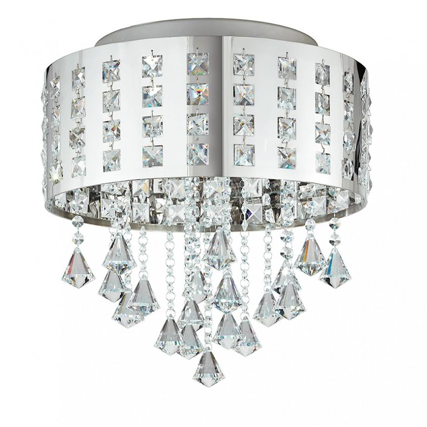 Lustra LED eleganta, aplicata, cu cristale K9 Innuendo LED-INNUENDO/PL40 FE, Plafoniere moderne, Corpuri de iluminat, lustre, aplice, veioze, lampadare, plafoniere. Mobilier si decoratiuni, oglinzi, scaune, fotolii. Oferte speciale iluminat interior si exterior. Livram in toata tara.  a