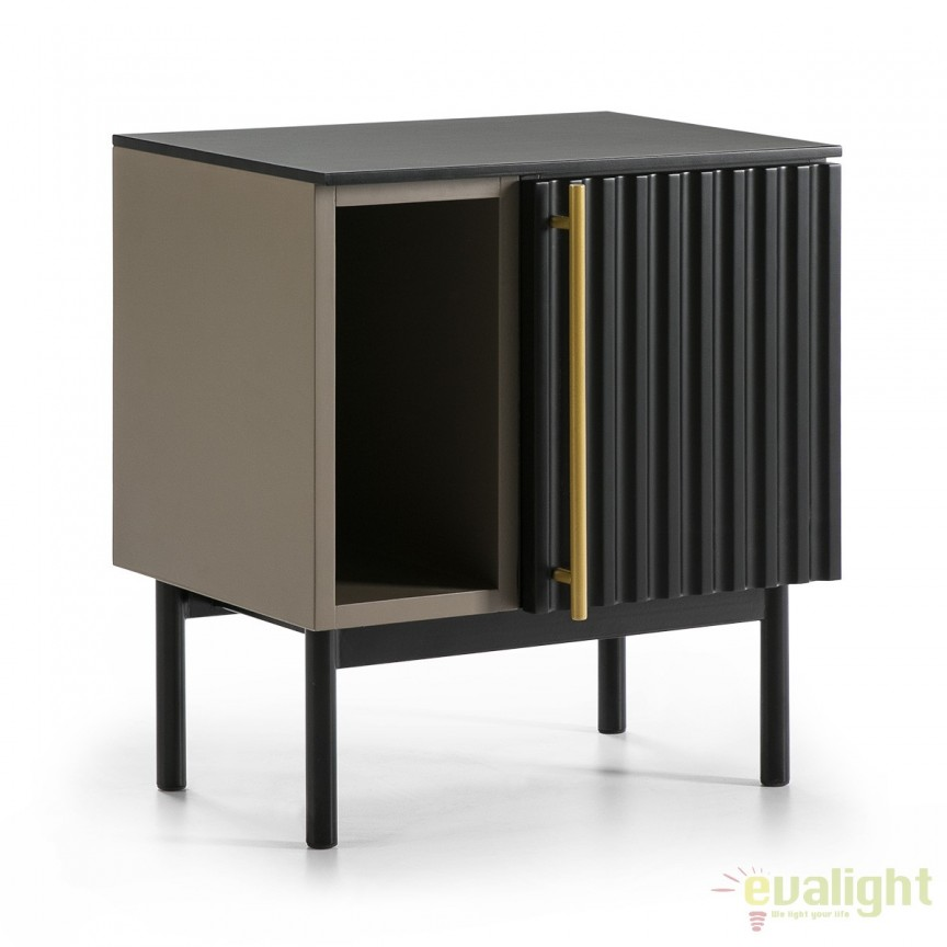Nopiera eleganta design LUX Golden 10235/00 TN, Paturi - Noptiere dormitor, Corpuri de iluminat, lustre, aplice, veioze, lampadare, plafoniere. Mobilier si decoratiuni, oglinzi, scaune, fotolii. Oferte speciale iluminat interior si exterior. Livram in toata tara.  a