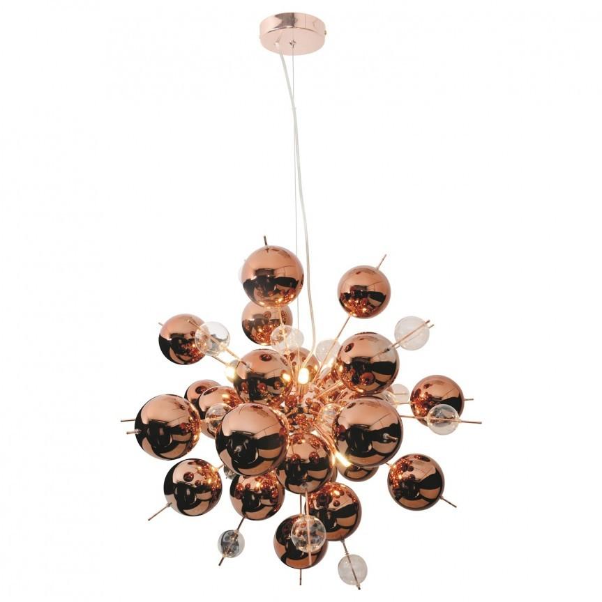 Lustra moderna design deosebit Explosion Copper 7026447 NV, Magazin,  a