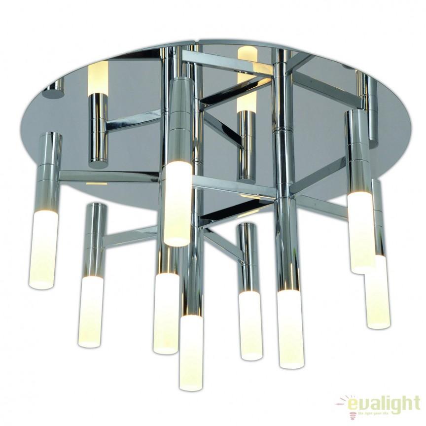 Lustra LED dimabila, design modern Castle, 50cm 1257142 NV, Magazin,  a