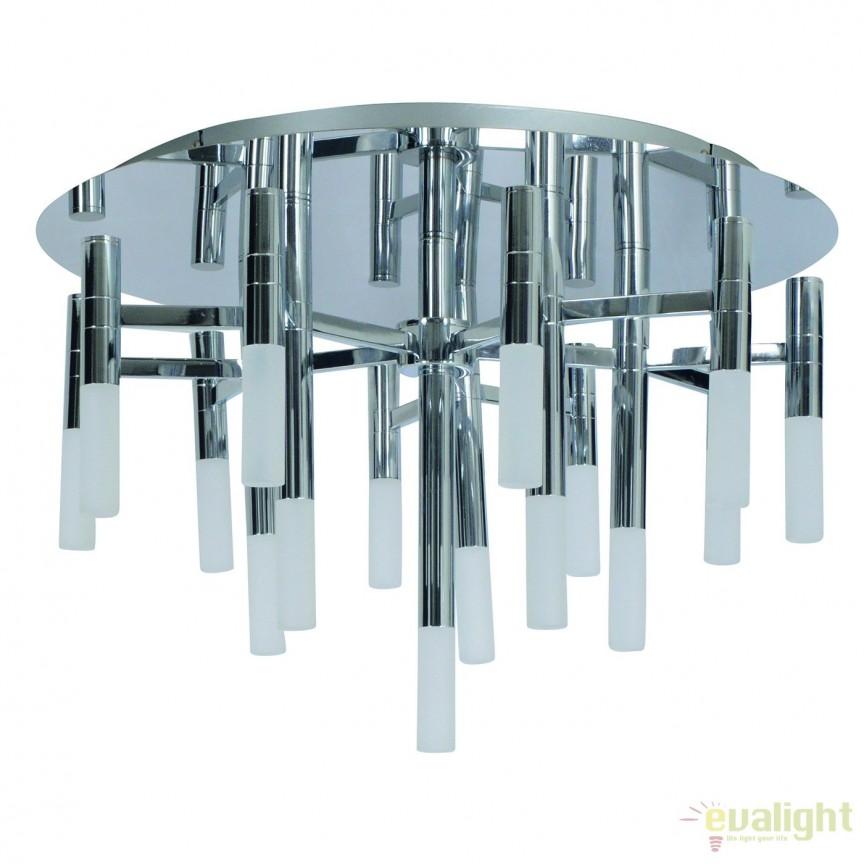 Lustra LED dimabila, design modern Castle, 60cm 1257242 NV, Magazin,  a