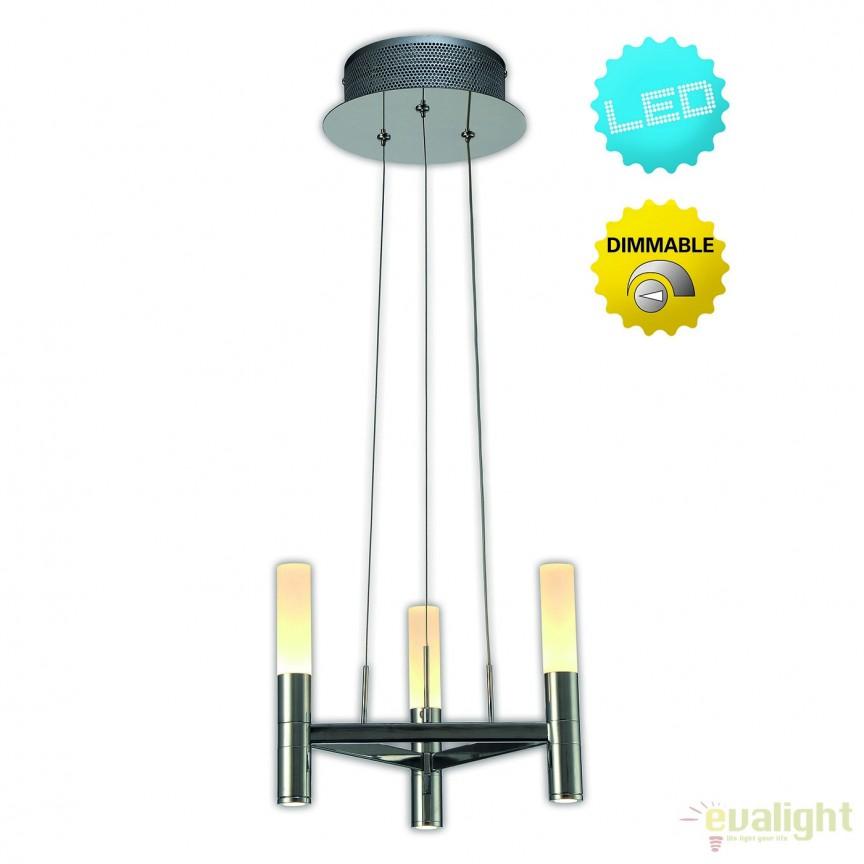 Lustra LED dimabila, design modern Castle, 28,5cm 7074942 NV, Magazin,  a