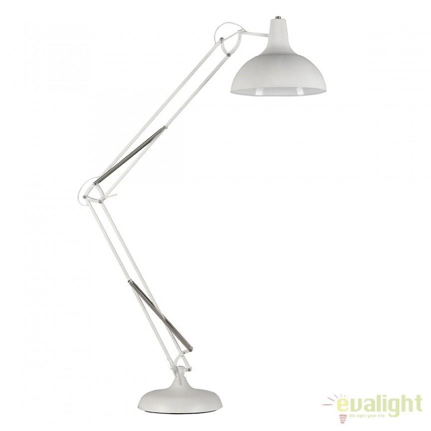 Lampadar modern reglabil Gunnar White, Cele mai noi produse 2019 a
