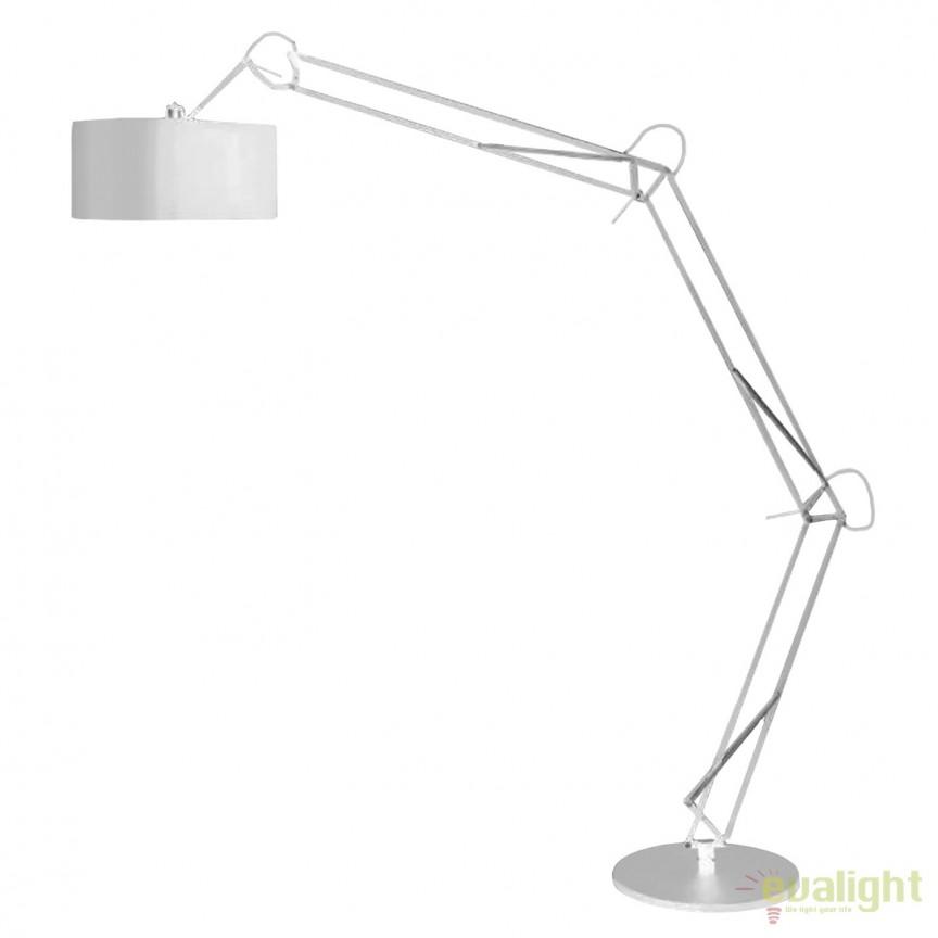 Lampadar ARC reglabil design modern Bosse White, Cele mai noi produse 2019 a