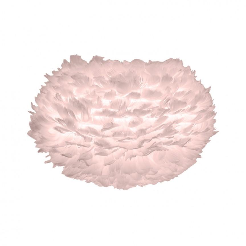 Pendul modern cu pene de gasca EOS roz, 45cm, Corpuri de iluminat, lustre, aplice, veioze, lampadare, plafoniere. Mobilier si decoratiuni, oglinzi, scaune, fotolii. Oferte speciale iluminat interior si exterior. Livram in toata tara.