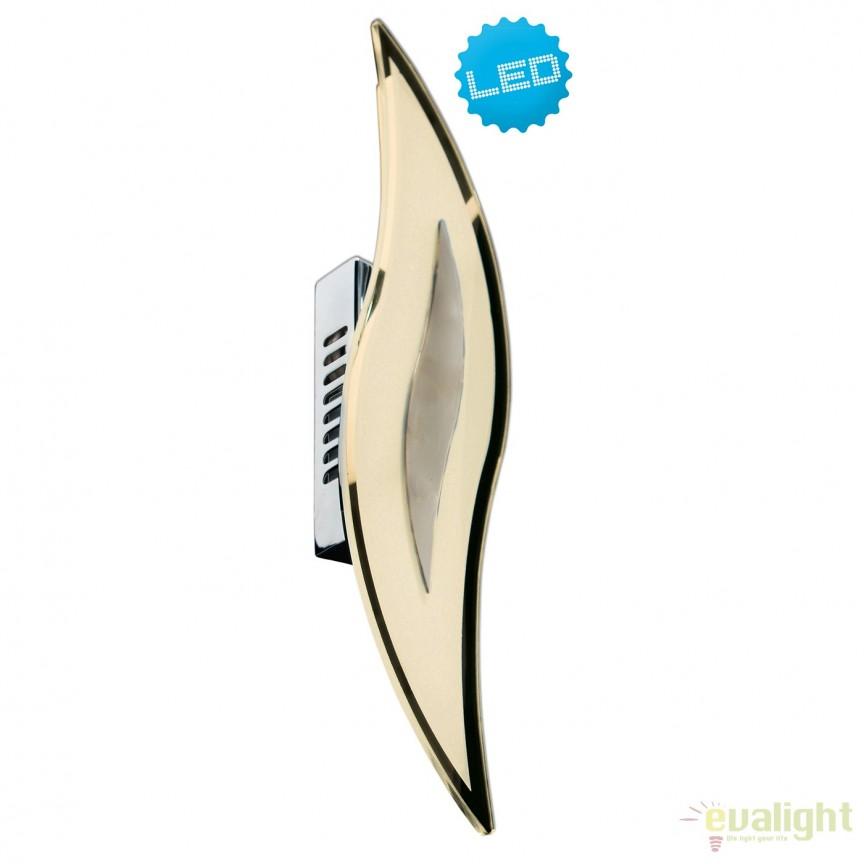 Aplica LED design modern Wave 1164842 NV, Aplice de perete LED, Corpuri de iluminat, lustre, aplice, veioze, lampadare, plafoniere. Mobilier si decoratiuni, oglinzi, scaune, fotolii. Oferte speciale iluminat interior si exterior. Livram in toata tara.  a