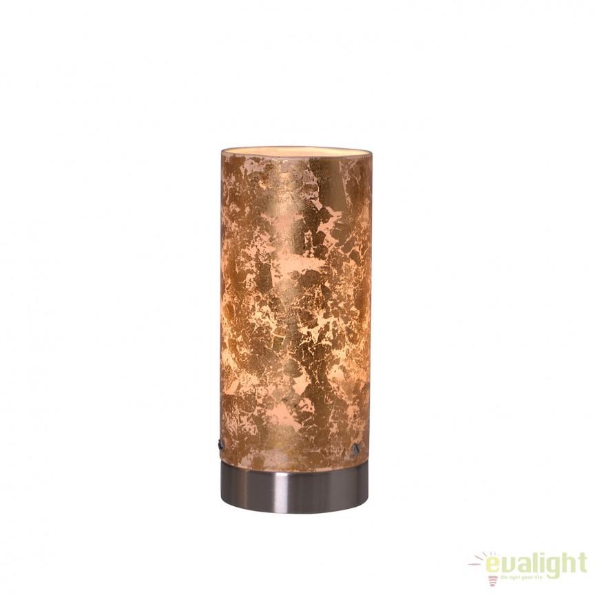 Veioza, Lampa de masa LED Pisa 3153258 NV, Veioze LED, Lampadare LED, Corpuri de iluminat, lustre, aplice, veioze, lampadare, plafoniere. Mobilier si decoratiuni, oglinzi, scaune, fotolii. Oferte speciale iluminat interior si exterior. Livram in toata tara.  a