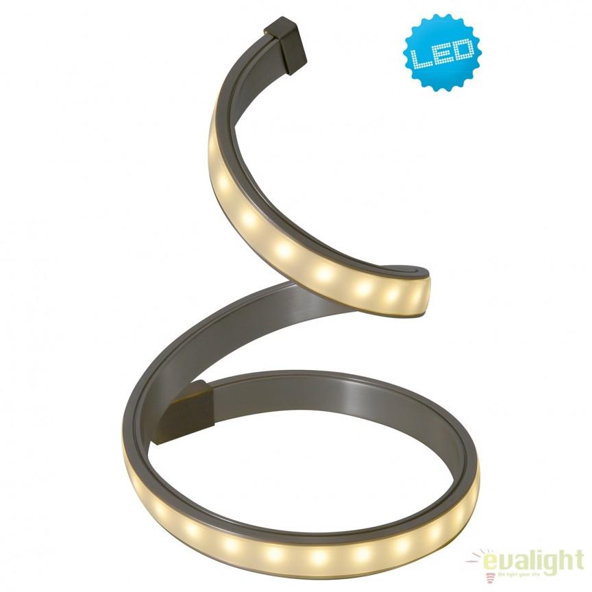 Veioza LED design modern Loop Line 3126850 NV, Veioze LED, Lampadare LED, Corpuri de iluminat, lustre, aplice, veioze, lampadare, plafoniere. Mobilier si decoratiuni, oglinzi, scaune, fotolii. Oferte speciale iluminat interior si exterior. Livram in toata tara.  a