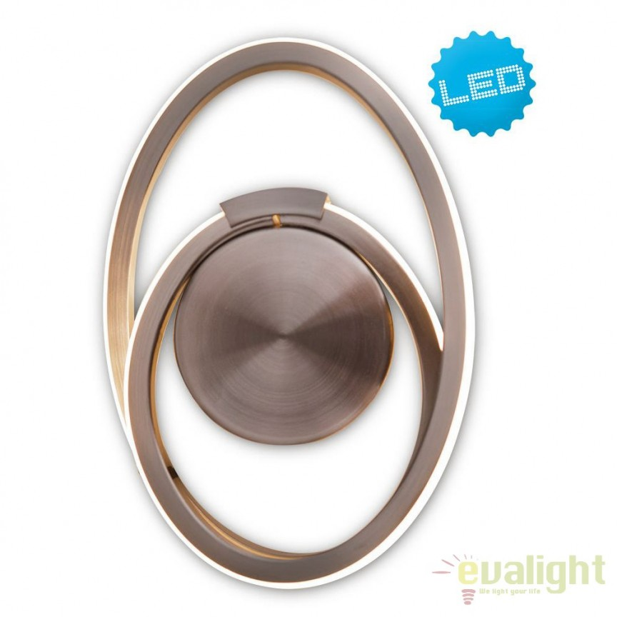 Aplica LED perete sau tavan, design modern Loop Line 1282450 NV, Aplice de perete LED, Corpuri de iluminat, lustre, aplice, veioze, lampadare, plafoniere. Mobilier si decoratiuni, oglinzi, scaune, fotolii. Oferte speciale iluminat interior si exterior. Livram in toata tara.  a