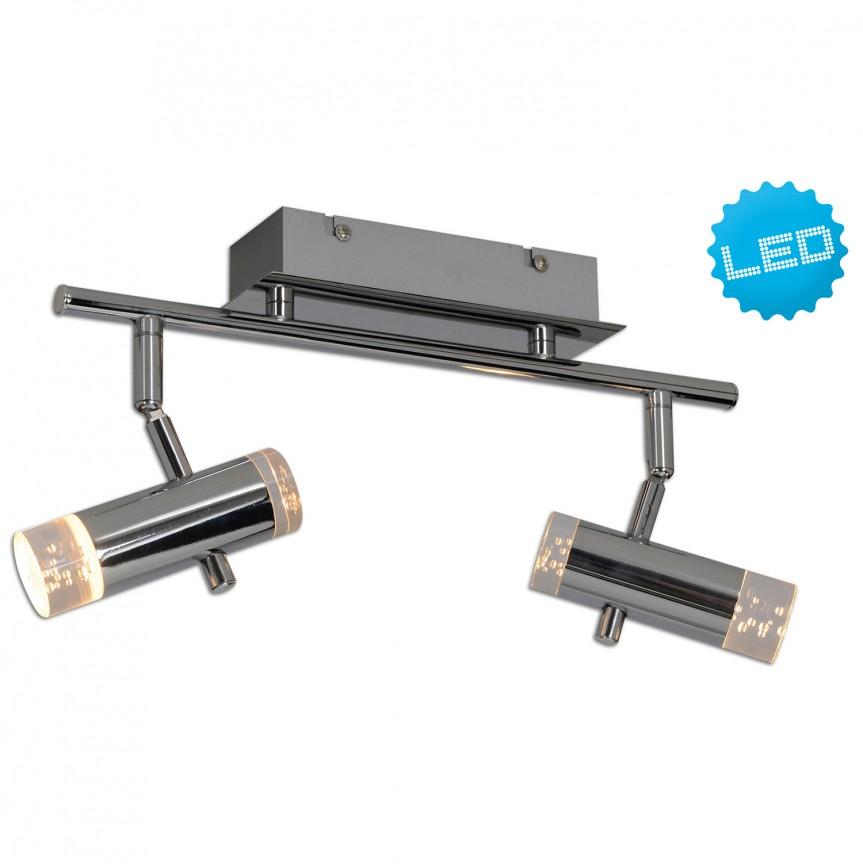 Plafoniera LED moderna cu 2 spoturi directionabile Garda 1235942 NV, PROMOTII,  a