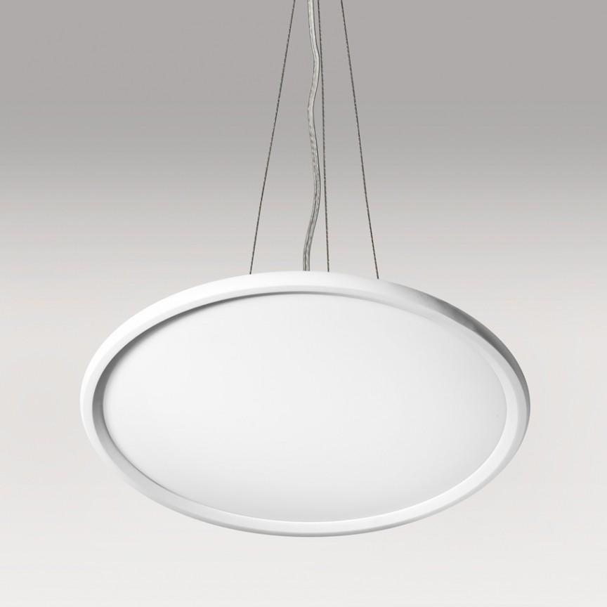 Lustra LED design modern Ø82CM SNELLO NEW, Lustre LED, Pendule LED, Corpuri de iluminat, lustre, aplice, veioze, lampadare, plafoniere. Mobilier si decoratiuni, oglinzi, scaune, fotolii. Oferte speciale iluminat interior si exterior. Livram in toata tara.  a
