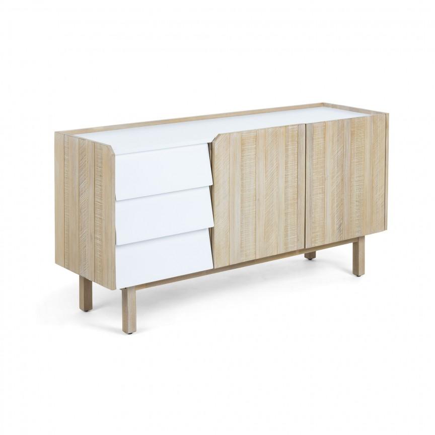 Comoda din lemn de stejar si MDF alb, TROPEA TR004M46 JG, PROMOTII, Corpuri de iluminat, lustre, aplice, veioze, lampadare, plafoniere. Mobilier si decoratiuni, oglinzi, scaune, fotolii. Oferte speciale iluminat interior si exterior. Livram in toata tara.  a