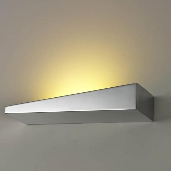 Aplica perete LED ambientala moderna Vialetto L Chrome, Aplice de perete LED, Corpuri de iluminat, lustre, aplice, veioze, lampadare, plafoniere. Mobilier si decoratiuni, oglinzi, scaune, fotolii. Oferte speciale iluminat interior si exterior. Livram in toata tara.  a