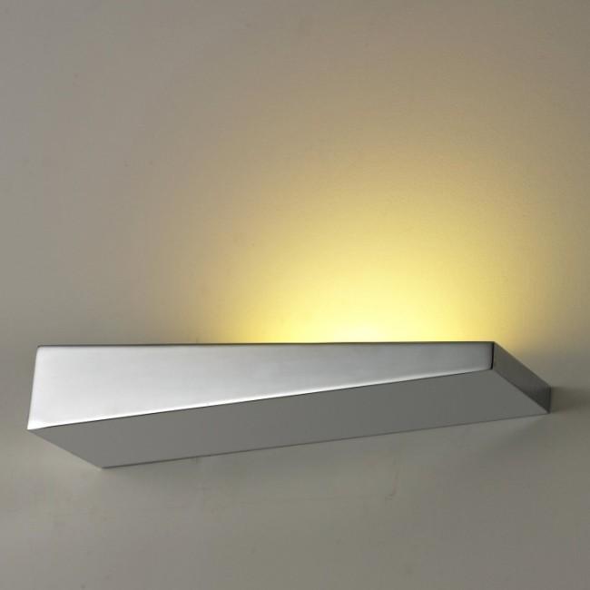 Aplica perete LED ambientala moderna Vialetto R Chrome, Aplice de perete LED, Corpuri de iluminat, lustre, aplice, veioze, lampadare, plafoniere. Mobilier si decoratiuni, oglinzi, scaune, fotolii. Oferte speciale iluminat interior si exterior. Livram in toata tara.  a