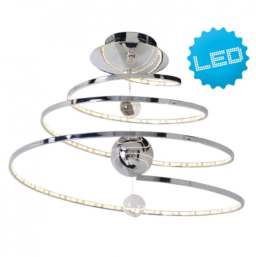 Lustra LED design modern Universe 7044642 NV, Lustre moderne aplicate, Corpuri de iluminat, lustre, aplice, veioze, lampadare, plafoniere. Mobilier si decoratiuni, oglinzi, scaune, fotolii. Oferte speciale iluminat interior si exterior. Livram in toata tara.  a