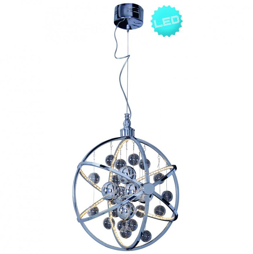 Lustra LED design modern Universe 6052042 NV, Lustre LED, Pendule LED, Corpuri de iluminat, lustre, aplice, veioze, lampadare, plafoniere. Mobilier si decoratiuni, oglinzi, scaune, fotolii. Oferte speciale iluminat interior si exterior. Livram in toata tara.  a