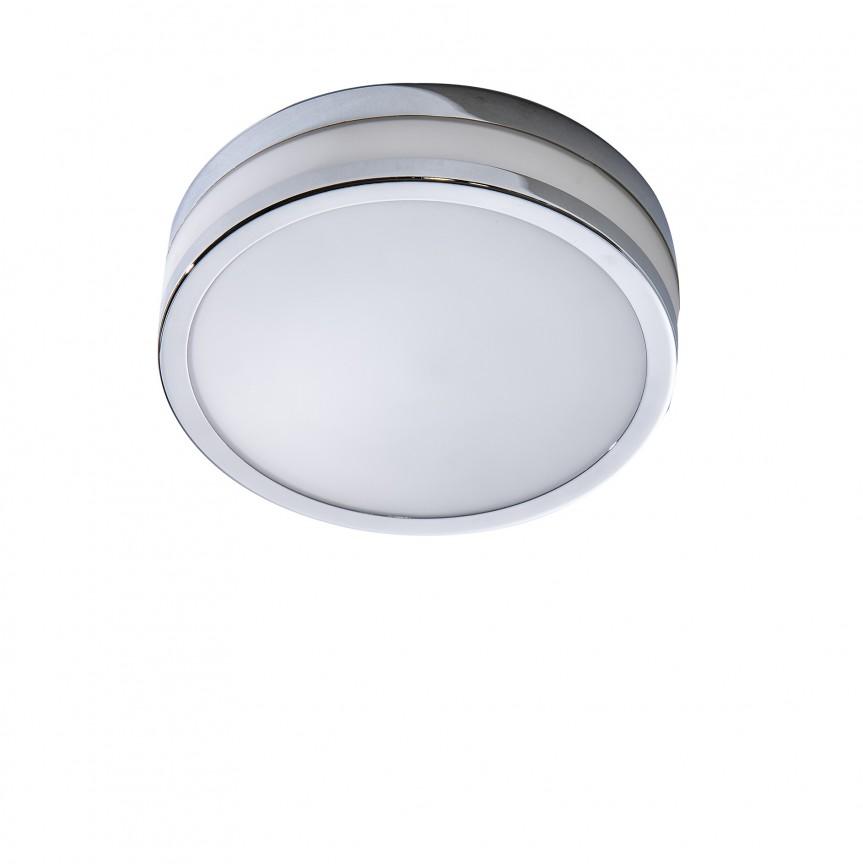 Plafoniera LED pentru baie Kari 22, Plafoniere cu protectie pentru baie, Corpuri de iluminat, lustre, aplice, veioze, lampadare, plafoniere. Mobilier si decoratiuni, oglinzi, scaune, fotolii. Oferte speciale iluminat interior si exterior. Livram in toata tara.  a