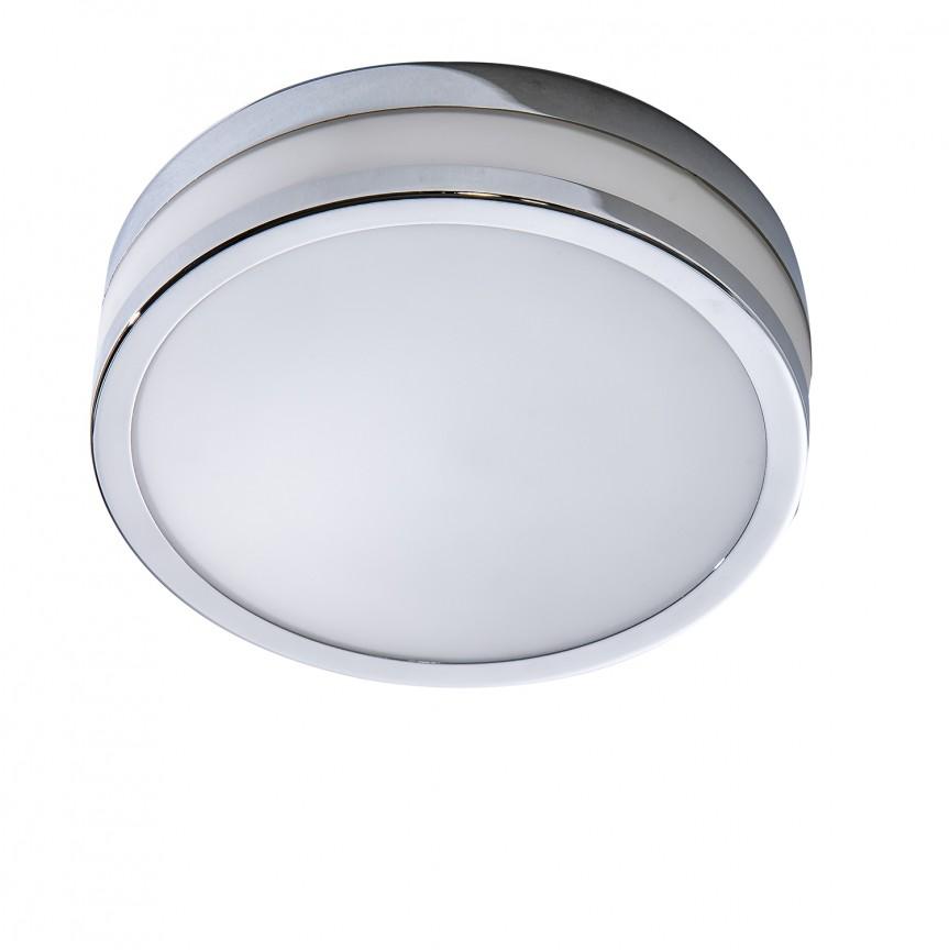 Plafoniera LED pentru baie Kari 30, Plafoniere cu protectie pentru baie, Corpuri de iluminat, lustre, aplice, veioze, lampadare, plafoniere. Mobilier si decoratiuni, oglinzi, scaune, fotolii. Oferte speciale iluminat interior si exterior. Livram in toata tara.  a