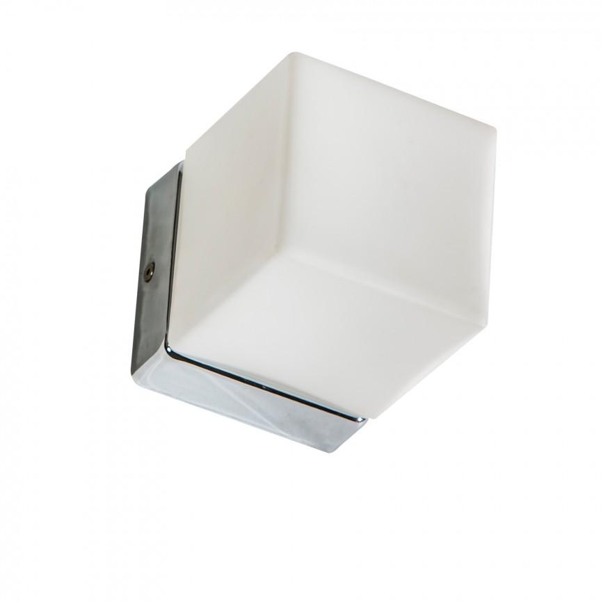 Aplica LED pentru baie Mil, Plafoniere cu protectie pentru baie, Corpuri de iluminat, lustre, aplice, veioze, lampadare, plafoniere. Mobilier si decoratiuni, oglinzi, scaune, fotolii. Oferte speciale iluminat interior si exterior. Livram in toata tara.  a