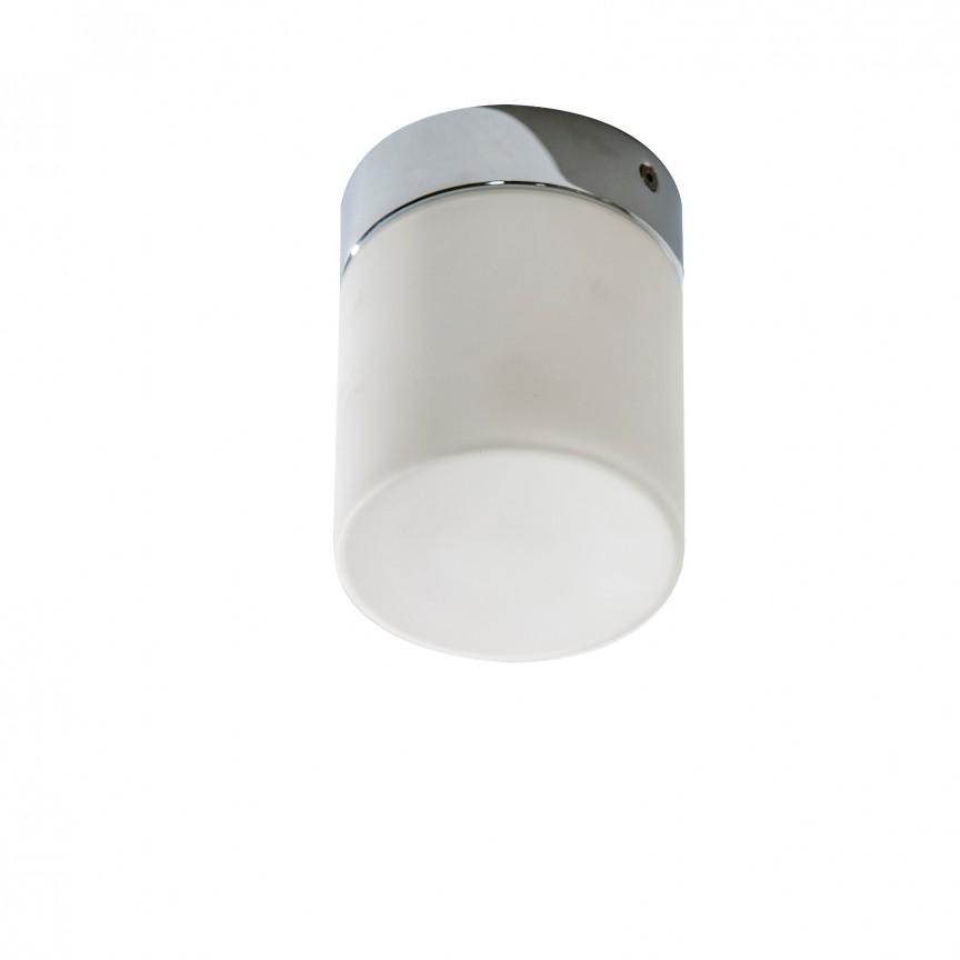 Plafoniera LED pentru baie Lir, Plafoniere cu protectie pentru baie, Corpuri de iluminat, lustre, aplice, veioze, lampadare, plafoniere. Mobilier si decoratiuni, oglinzi, scaune, fotolii. Oferte speciale iluminat interior si exterior. Livram in toata tara.  a