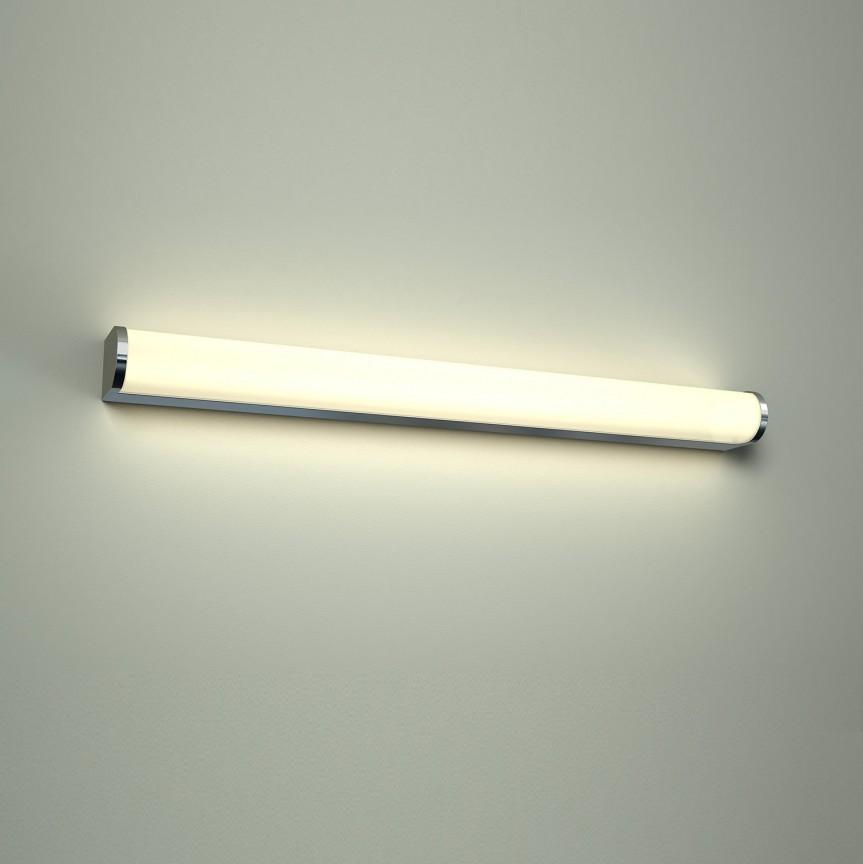 Aplica LED pentru oglinda baie 4000K Petra 60, Aplice pentru baie, oglinda, tablou, Corpuri de iluminat, lustre, aplice, veioze, lampadare, plafoniere. Mobilier si decoratiuni, oglinzi, scaune, fotolii. Oferte speciale iluminat interior si exterior. Livram in toata tara.  a