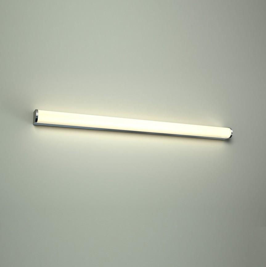 Aplica LED pentru oglinda baie 3000K Petra 120, Aplice pentru baie, oglinda, tablou, Corpuri de iluminat, lustre, aplice, veioze, lampadare, plafoniere. Mobilier si decoratiuni, oglinzi, scaune, fotolii. Oferte speciale iluminat interior si exterior. Livram in toata tara.  a