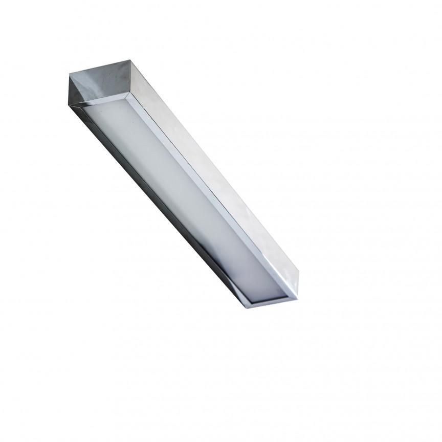 Aplica LED pentru oglinda baie 3000K Rado 60 CR, Aplice pentru baie, oglinda, tablou, Corpuri de iluminat, lustre, aplice, veioze, lampadare, plafoniere. Mobilier si decoratiuni, oglinzi, scaune, fotolii. Oferte speciale iluminat interior si exterior. Livram in toata tara.  a