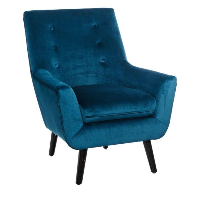 Fotoliu design modern Walter albastru SX-101292, Fotolii - Fotolii extensibile, Corpuri de iluminat, lustre, aplice, veioze, lampadare, plafoniere. Mobilier si decoratiuni, oglinzi, scaune, fotolii. Oferte speciale iluminat interior si exterior. Livram in toata tara.  a