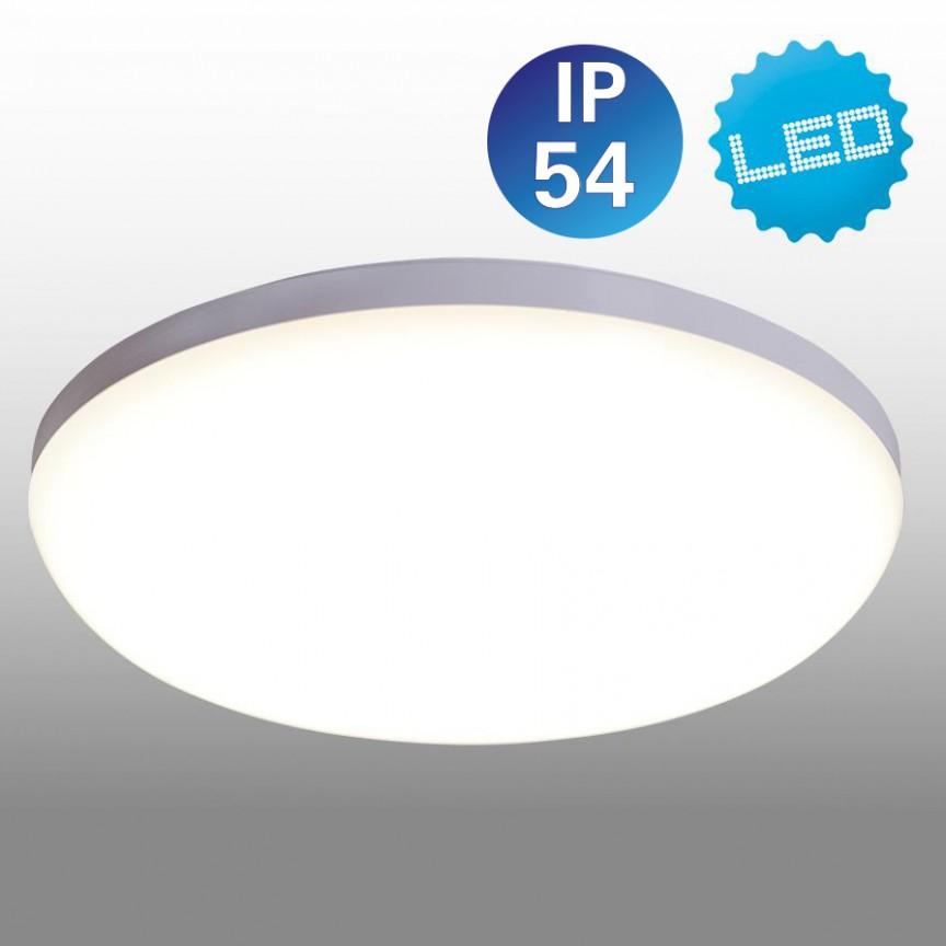 Plafoniera LED cu protectie IP54 Garda, 28cm 1286823 NV, Plafoniere cu protectie pentru baie, Corpuri de iluminat, lustre, aplice, veioze, lampadare, plafoniere. Mobilier si decoratiuni, oglinzi, scaune, fotolii. Oferte speciale iluminat interior si exterior. Livram in toata tara.  a