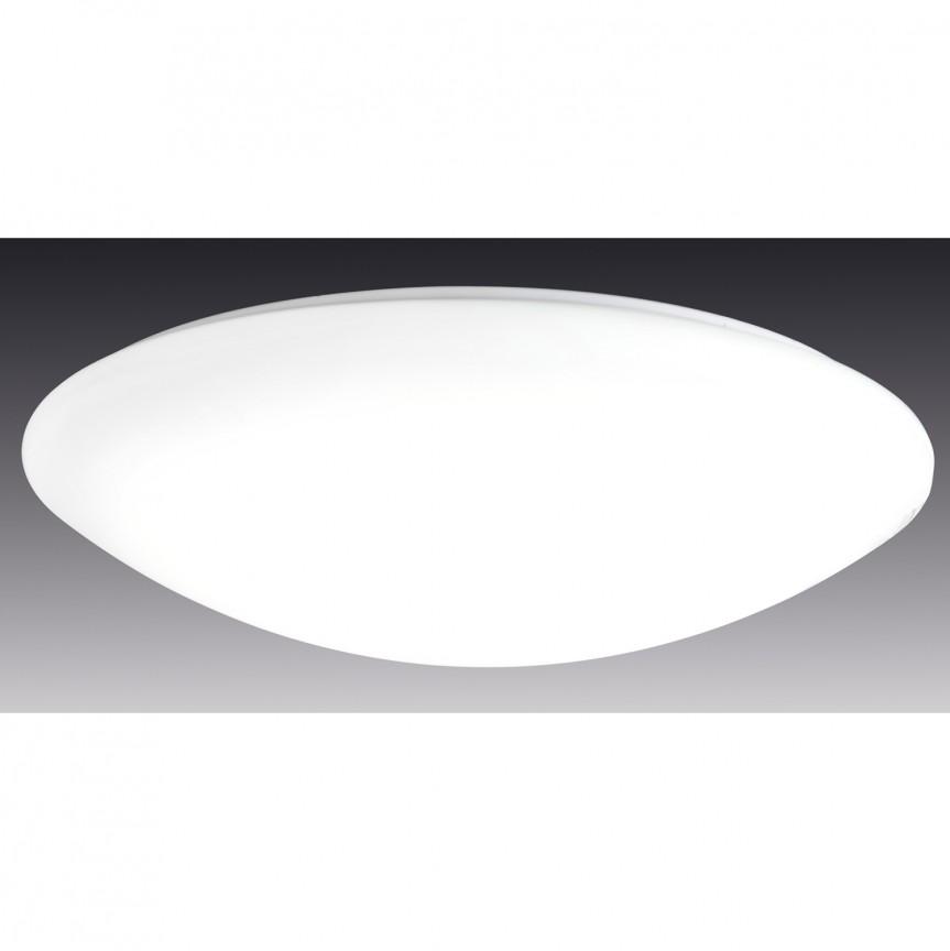Plafoniera dimabila cu iluminat LED si telecomanda Sydney, 60cm 1194226 NV, Lampi LED si Telecomanda, Corpuri de iluminat, lustre, aplice, veioze, lampadare, plafoniere. Mobilier si decoratiuni, oglinzi, scaune, fotolii. Oferte speciale iluminat interior si exterior. Livram in toata tara.  a