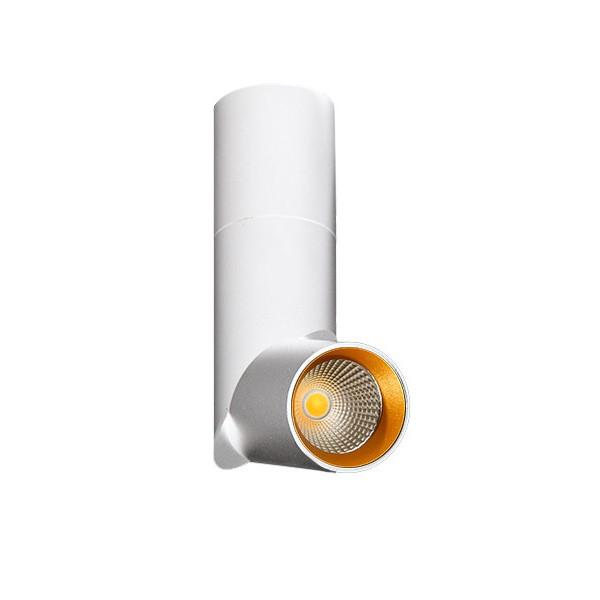 Spot LED modern directionabil aplicat tavan/plafon Santos alb, Spoturi aplicate - tavan / perete, Corpuri de iluminat, lustre, aplice, veioze, lampadare, plafoniere. Mobilier si decoratiuni, oglinzi, scaune, fotolii. Oferte speciale iluminat interior si exterior. Livram in toata tara.  a