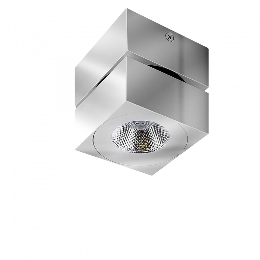 Spot LED modern aplicat tavan/plafon DIADO crom, Spoturi aplicate - tavan / perete, Corpuri de iluminat, lustre, aplice, veioze, lampadare, plafoniere. Mobilier si decoratiuni, oglinzi, scaune, fotolii. Oferte speciale iluminat interior si exterior. Livram in toata tara.  a